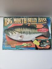 Big Mouth Billy Bass Singing Sensation Fish Motion Activated vtg fishing