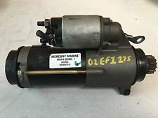2002 Mercury 2.5 L 175 HP EFI Outboard Engine Starter Motor Freshwater MN