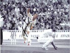 Australia Cricket Legend SHANE WARNE Signed Selective Colour Image Photo
