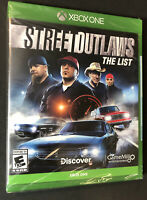 Street Outlaws [ The List ] (XBOX ONE) NEW
