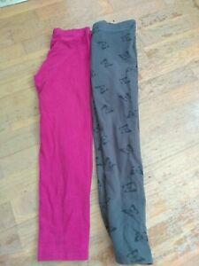 Girls leggings 7-8 bundle