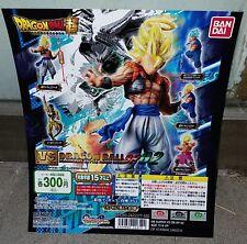 Bandai Dragonball Z Super VS Versus Battle Figure SP 02 Gashapon - Set of 5