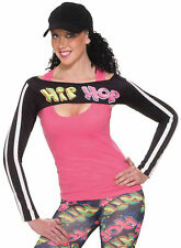 Hip Hop Womens Adult Break Dancer Costume Accessory Shrug-STD