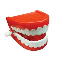 """CHATTERING TEETH"" TRADITIONAL NOVELTY TOY/JOKE"