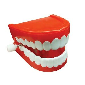"""""""CHATTERING TEETH"""" TRADITIONAL NOVELTY TOY/JOKE"""