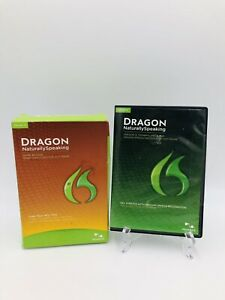 Nuance Dragon Naturally Speaking Version 12 Home Edition W/ Training Video NEW