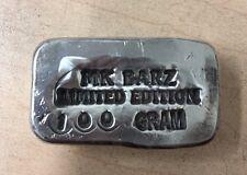 """100 Gram MK BARZ """"Silver Bar"""" .999 FS"""