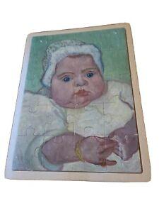 "1988 ""Portrait of Marcelle Roulin"" Wooden Puzzle Vincent Van Gogh Brand new"
