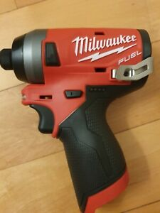 Milwaukee 2553-20 1/4-Inch M12 FUEL Hex Impact Driver - Tool only - New