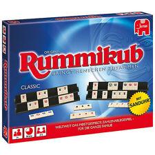 Jumbo Original Rummikub Classic mit Sanduhr Legespiel Strategiespiel Spiel