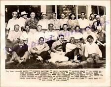 "1930s San Francisco California Golf Semi-Pro Golfers Group Haas 10""x8"" Photo"