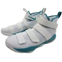 Nike Lebron Soldier 11 XI TB Mens Size 17 Basketball Shoes White NEW