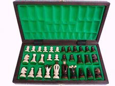 """Nuevo ajedrez de madera """"Batory""""."""