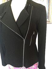 NWT Ann Taylor stunning Black dressy bumper moto Jacket, $169.00
