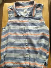 Girls H&M Sleeveless Striped Top Age14+