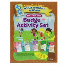 Girl Scout Brownie Badge Activity Set WOW! (Wonders Of Water)
