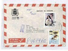 CM381 *PERU* Missionary Air Mail MIVA Austria Cover