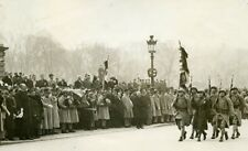 France Paris Invalides Funeral General Berthelot Old Photo Rol 1931