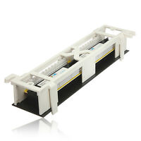 Launched CAT6 Patch Panel 12 Ports Network Wall Mount Mounting Rack Bracket