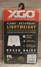 XGO Flame Retardant Lightweight Boxer Brief - Medium - 499 Tan - New