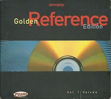 Stereoplay Golden Reference Edition Vol. 1 Voices Zounds 24 Karat Gold CD OOP