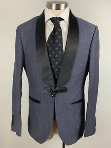 One Button Linen Suits Blazers For Men For Sale Ebay