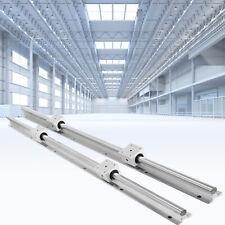 Sbr20 650 2200mm Linear Slide Rail Guide Shaft Rod With 4pcs Sbr20 Bearing Block