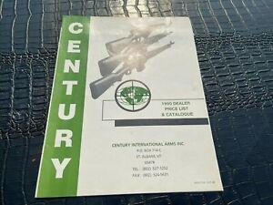 #MISC-5298 - 1990 CENTURY GUN CATALOG and PRICE LIST