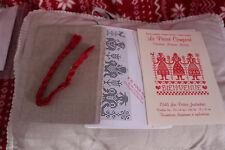 kit de point de croix le passé composé ( les petites jardinières)