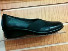 Ecco 217023 ladies black slip on shoe size 37 SALE €55
