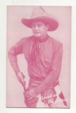 Quick On The Draw 1940's 1950's Cowboy Red Exhibit Penny Arcade Card