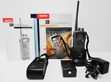 Apelco 520 Vhf Handheld Submersible Radio w/Box & All Accessories