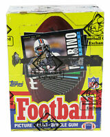 1985 Topps Football Wax Box BBCE Wrapped Sealed- 36 Packs (Possible Warren Moon)