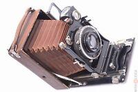 ✅ CERTO CERTOTROP LUXUS 9X12CM *SCARCE* PLATE CAMERA ZEISS 135MM 4.5 TESSAR LENS