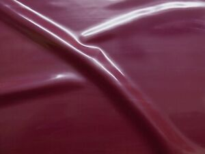 Latex Rubber 0.33mm Thick, 92cm Wide, Plum