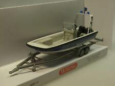 Wiking Mehrzweckboot MZB72 Lehmar - THW - 0095 46 - 1/87