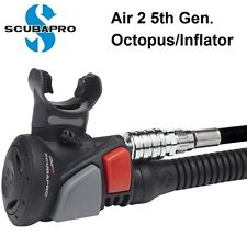 Scubapro Air 2 5th Generation 21-090-000 Octopus Inflator Dive gear Scuba diving