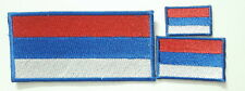 russia flag set EMBROIDERED SEW IRON ON PATCH BADGE set