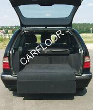 Für Seat Leon ST ab 11.12  Kofferraumteppich ausklappbar Velours schwarz