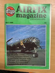 MAY 1980 AIRFIX MAGAZINE - MODELLING THE RAE HERCULES W2