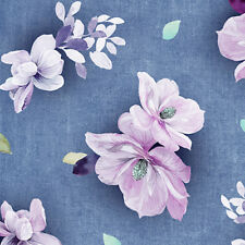 Denim Blue Jacqueline Fabric - 26558W - Quilting Treasures - Bty