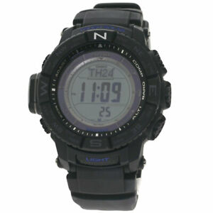 CASIO Protolec Triple Sensor Watches PRW-3510Y Stainless Steel/Rubber mens