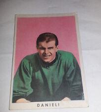 FIGURINA  CARTONATA 1961/  62 - RASA MILANO  -  DANIELE DANIELI  - ECCELLENTE