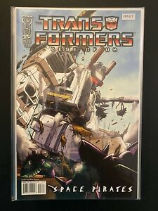 Transformers Best of UK 3 Metroplex High Grade IDW Comic Book CL97-217
