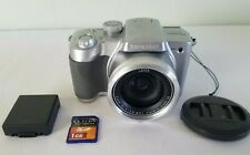 Panasonic LUMIX DMC-FZ5 5.0MP Digital Camera - Silver *GOOD/TESTED*