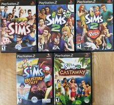 The Sims games (Playstation 2) Ps2 Tested