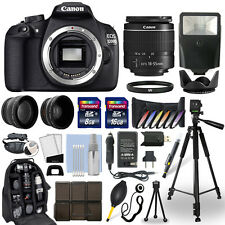 Canon EOS 1200D / T5 DSLR Camera + 18-55mm Lens + 24GB Multi Accessory Bundle