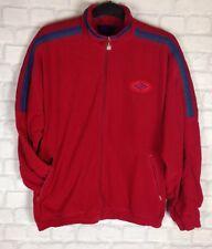 URBAN Renewal 90 S UMBRO Tuta Da Ginnastica Top Track Jacket Vintage con Sports UK XL