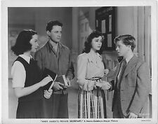 ANDY HARDY'S PRIVATE SECRETARY original MGM photo ANN RUTHERFORD/KATHRYN GRAYSON