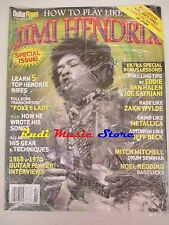 GUITAR PLAYER SEALED Magazine Jimi Hendrix Metallica Jeff Beck  Redding NO cd